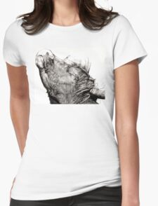 Highland Bull Womens Fitted T-Shirt