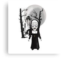 Wicked Nun Canvas Print