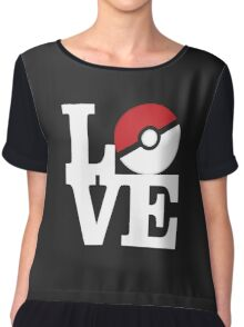 Love Pokemon Chiffon Top