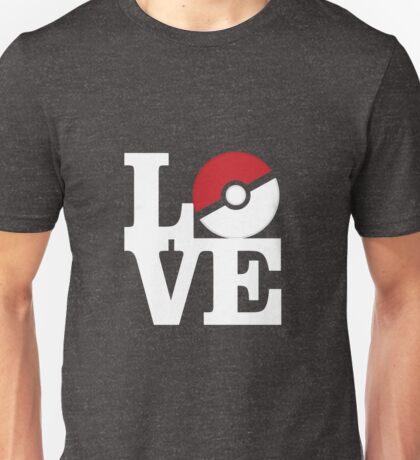 Love Pokemon Unisex T-Shirt