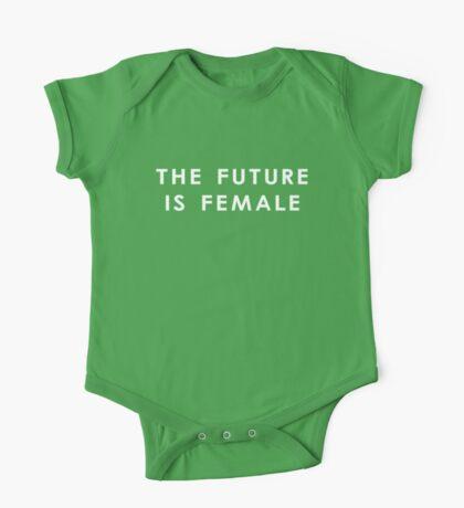 The Future Is Female | Dark One Piece - Short Sleeve
