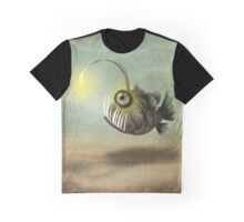 Mr. Fishy on his own Graphic T-Shirt