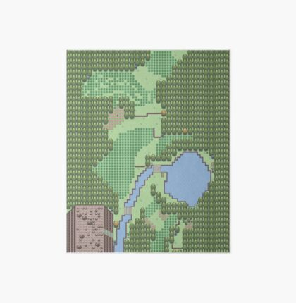 Pokemon Route 1 (Gen 5) Art Board