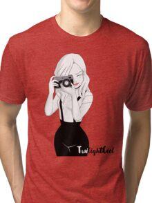 Camera Girl Tri-blend T-Shirt