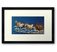 """Cool Crossings #2"" Framed Print"