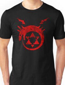 °MANGA° Full Metal Ouroboros Rust Logo Unisex T-Shirt
