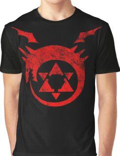 °MANGA° Full Metal Ouroboros Rust Logo Graphic T-Shirt
