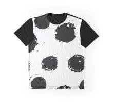 Dots World BW Graphic T-Shirt