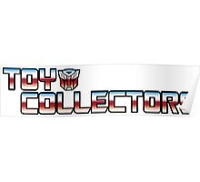 Transformers Toy Collector Logo Poster