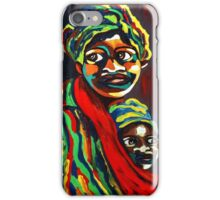 African Traditional Tribal Women Abstract Art Canvas Painting for Women, Girls, Ladies, Kids 8 iPhone Case/Skin
