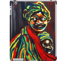 African Traditional Tribal Women Abstract Art Canvas Painting for Women, Girls, Ladies, Kids 8 iPad Case/Skin