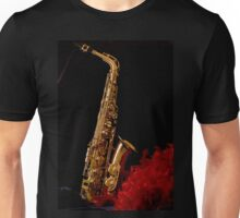 Full Length Saxophone Unisex T-Shirt