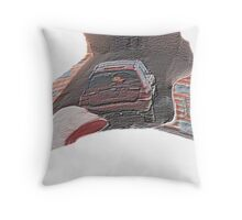 Retire on Foot Throw Pillow