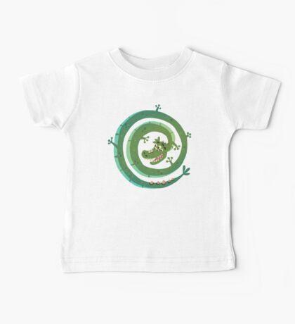 Dragon espiral Baby Tee