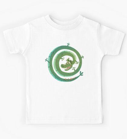 Dragon espiral Kids Tee