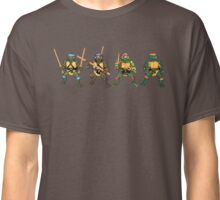 Original Four Playmates Turtles! Classic T-Shirt