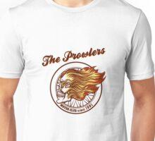 Skull in flames Biker club Emblem Unisex T-Shirt