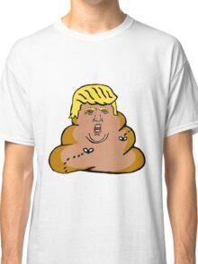 Trump Poop Classic T-Shirt