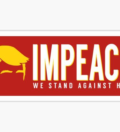 Impeach Donald Trump Sticker