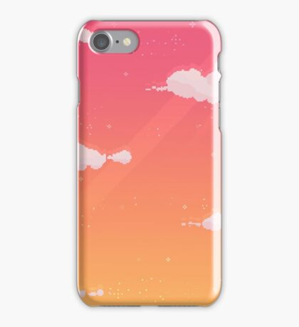 Pixel Sky iPhone Case/Skin