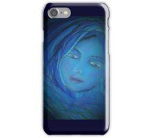 Love in blue iPhone Case/Skin