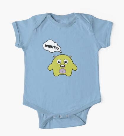 Cartoon monsters. What? One Piece - Short Sleeve