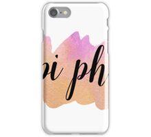 Pi Phi iPhone Case/Skin