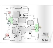 Counter Strike Global Offensive Dust 2 Alt Map Poster