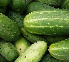 vegetables fruits by Krzyzanowski Art