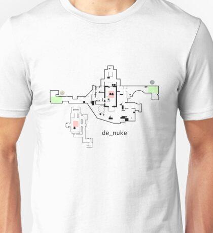 Counter Strike Global Offensive Nuke Map Unisex T-Shirt