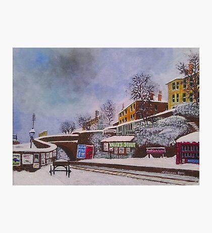 Port Glasgow Christmas  Photographic Print