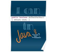 Do It in Java Poster