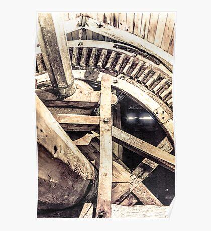 Mill Wheel Poster