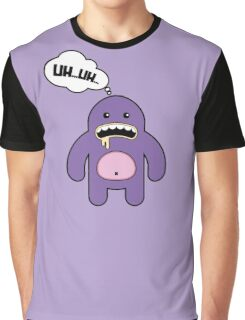Cartoon monsters. UH...UH... Graphic T-Shirt