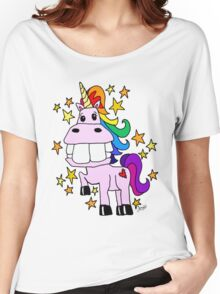 Magical Rainbow Unicorn Women's Relaxed Fit T-Shirt