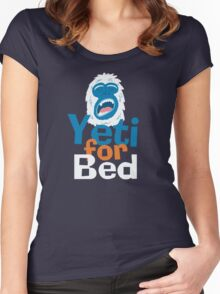 Yeti for Bed Women's Fitted Scoop T-Shirt