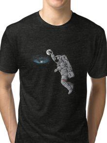astronaut dunk Tri-blend T-Shirt