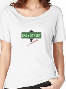 NEGAN EASY STREET !!!!!!!!!! Women's Relaxed Fit T-Shirt