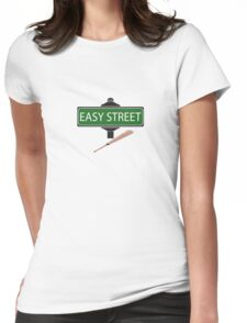 NEGAN EASY STREET !!!!!!!!!! Womens Fitted T-Shirt