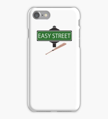 NEGAN EASY STREET !!!!!!!!!! iPhone Case/Skin