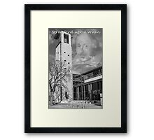 Royal Shakespeare Theatre Framed Print