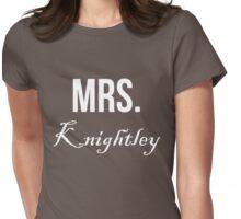 Mrs Knightley T Shirt Jane Austen Pride & Prejudice Tee Womens Fitted T-Shirt
