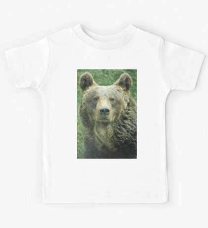 Eurasian Brown Bear Kids Tee