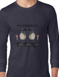 Totoro, Satsuki and Mei - symmetry Long Sleeve T-Shirt