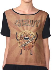 Chewy Chocolate Cookie Wookiee Chiffon Top