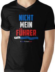 Nicht Mein Fuhrer - Not My President Mens V-Neck T-Shirt
