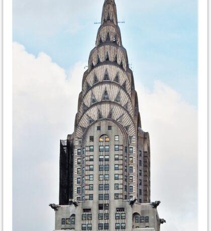 The Chrysler Building , New York  Sticker