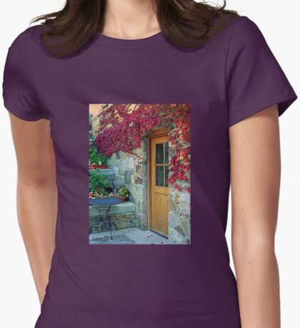 """The Kitchen Door"" Womens Fitted T-Shirt"
