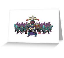 Shredder, Krang, Rocksteady, Bebop, Foot Clan, OH MY!  Greeting Card
