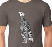 Zentangle Penguin Unisex T-Shirt